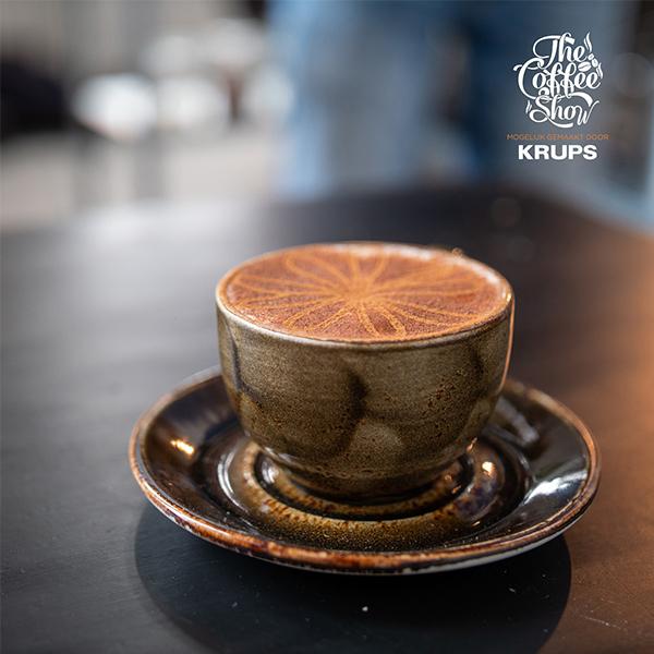 Cappuccino, honing en kaneel