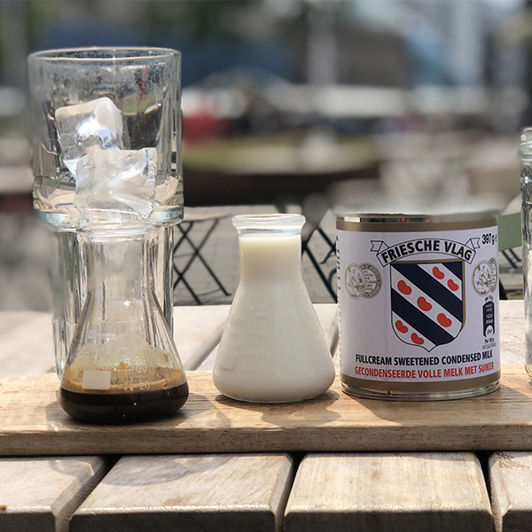 Heerlijke iced coffee